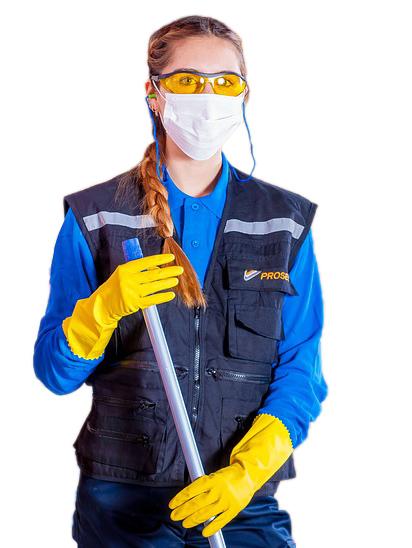 Pracovní oděvy a ochranné pomůcky